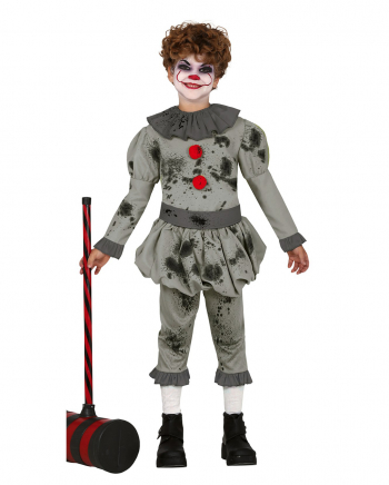 Pepe The Horror Clown Kids Costume