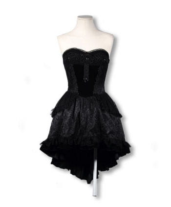 Perlen Frack Kleid
