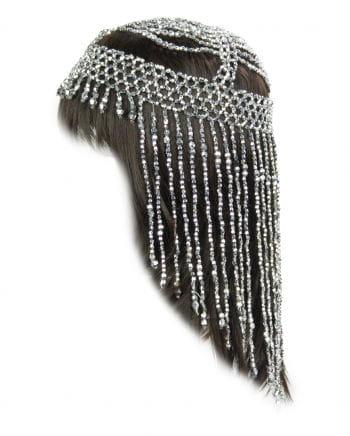Pearl Headdress Silver