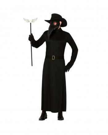 Plague Doctor Men Costume With Beak Mask