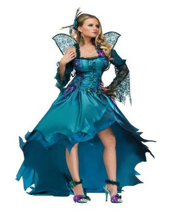 Pfauen Fee Deluxe Kostüm XL