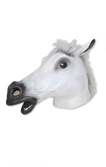 Pferde Maskierung Weiß