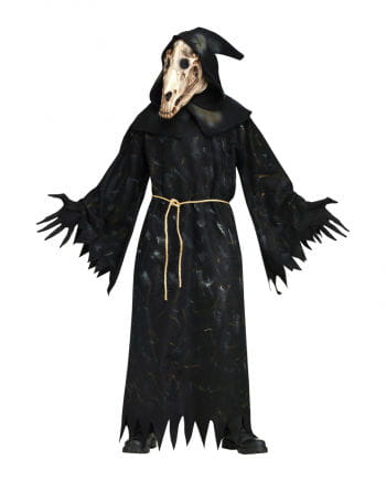 Horse Skull Demon Costume