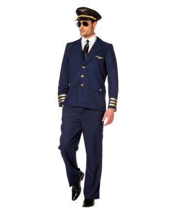 Piloten Herrenkostüm Deluxe