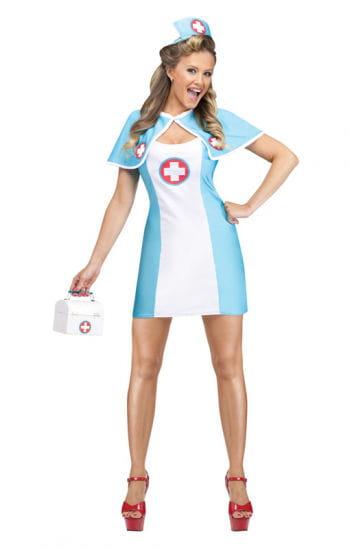 Pin Up Krankenpflegerin Kostüm
