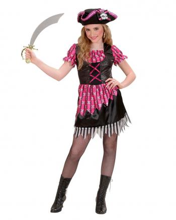 Pink Fantasy Pirate Child Costume