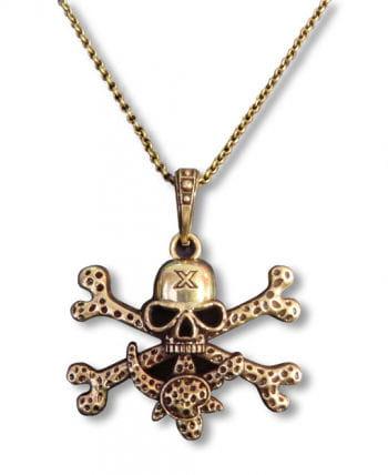 Piraten Amulett gold