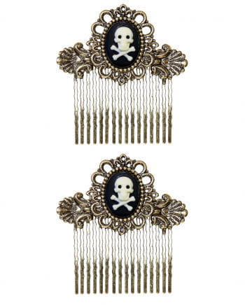 Pirate Hair Comb Antique Set Of 2
