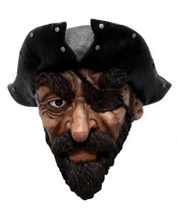 Maske Pirat mit Bart