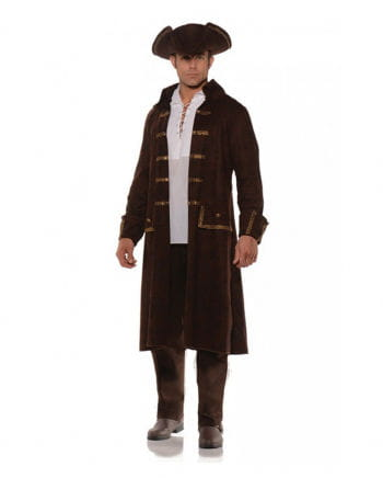 Pirate Costume Coat With Hat