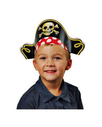Piratenhte with skull 12 St.