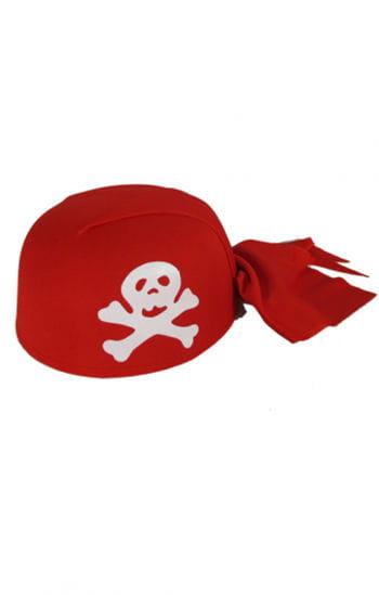 Piratenmütze rot