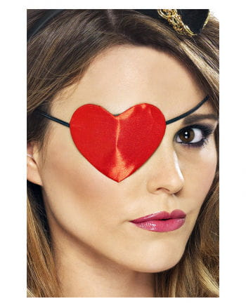 Piraten Augenklappe in Herzform