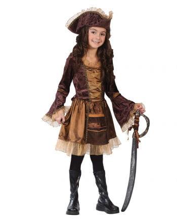 Lady Pirate Child Costume. S