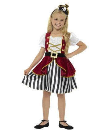 Kostümkleid Piratin für Mädchen