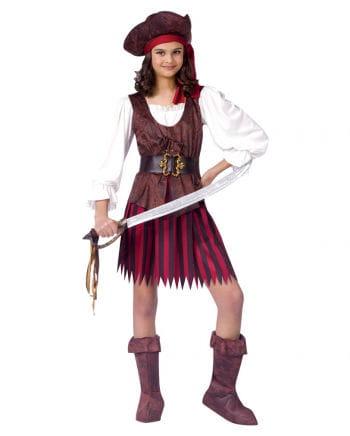 Piratin Kinder Kostüm M