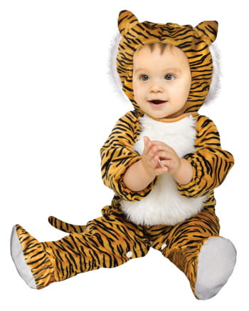 Plush Tiger Baby Costume S