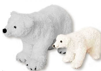 Plush Polar Bear Small