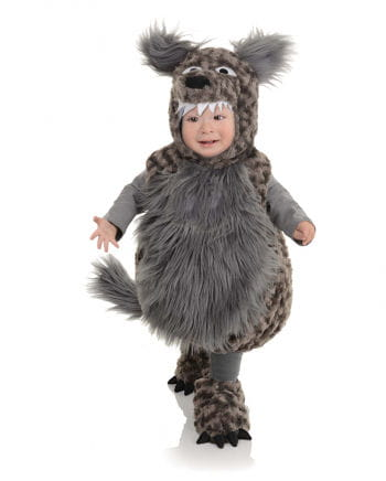 Plush Wolf Costume Toddlers