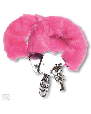 Plush Handcuffs pink