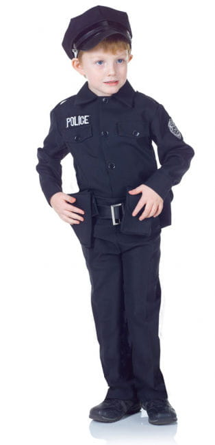 Policeman Children's Costume