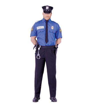 Blaues Polizei Hemd