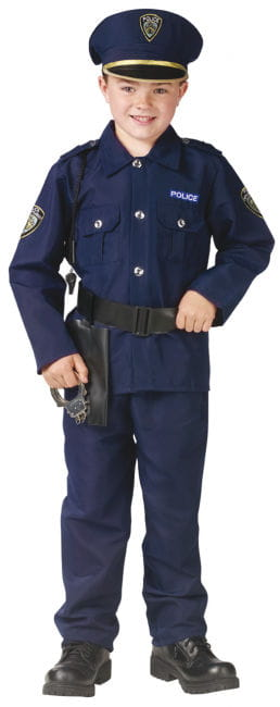 Polizeiuniform Kinderkostüm