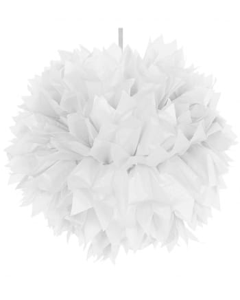 Pom-Pom White 30cm