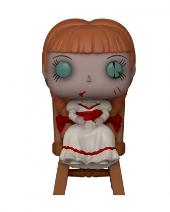 POP Movies: Annabelle in Chair Vinyl Figur