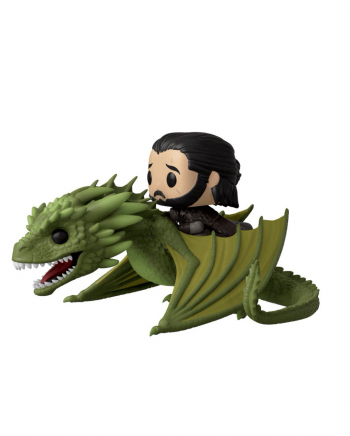 Funko POP Rides - GoT Jon Snow With Rhaegal