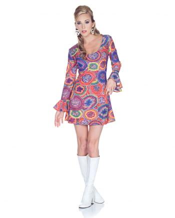 Hippie Minikleid Psychedelic