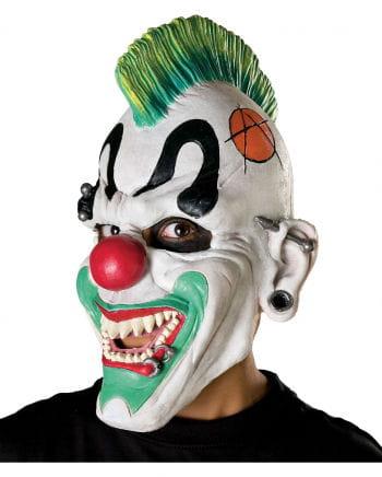 Punk Clown Horrormaske