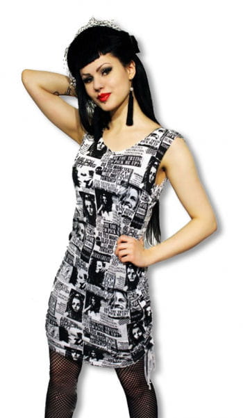 Punk dress in Zeitunsdesign