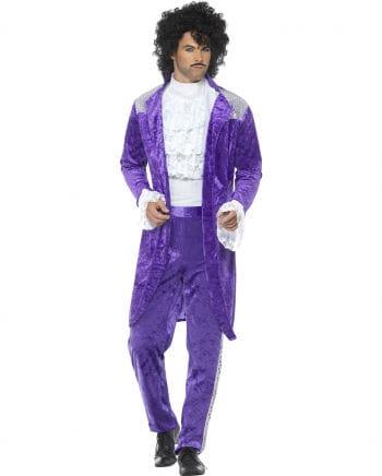 80er Jahre Purple Rain Kostüm