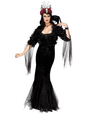 Raben Fürstin Deluxe Kostüm