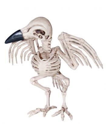Krähen Skelett Halloween Figur 19 cm