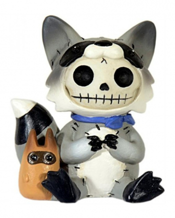 Raccoon Furrybones Figure Small
