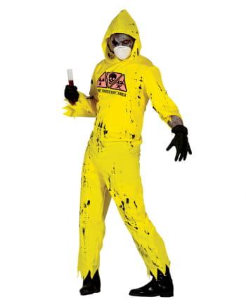 Zombie Radioaktivitätskostüm