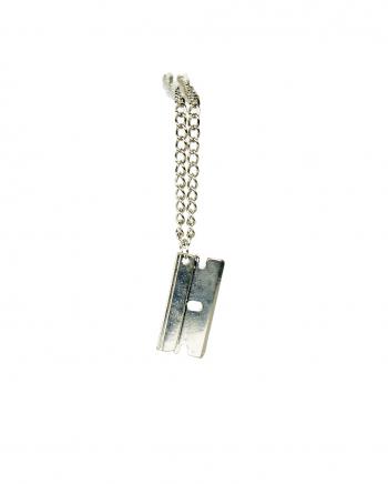 Necklace With Razor Blade