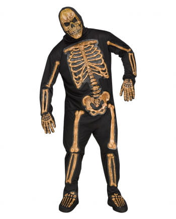 Realistic Skeleton Bones Costume Plus Size