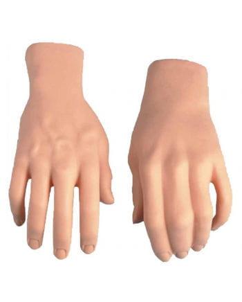 Täuschend echte Deko Hände