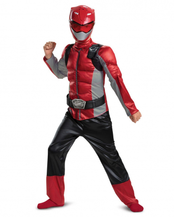 Red Ranger Beast Morphers Muscle Costume
