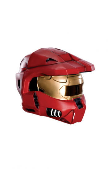 Roter HALO Helm