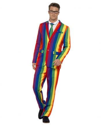 Rainbow Anzug mit Krawatte
