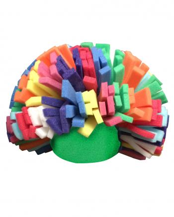 Rainbow Clowns Wig Made Of Foam
