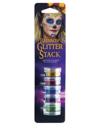 Rainbow Glitter Makeup Set