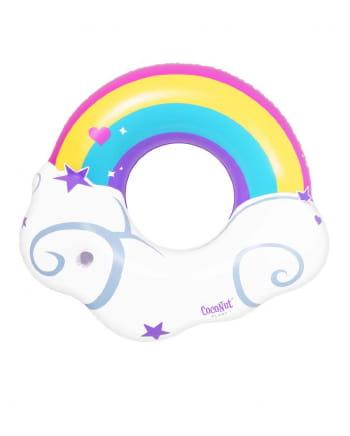 Schwimmring Regenbogen 120cm