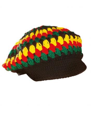 Rastafari Häkelmütze