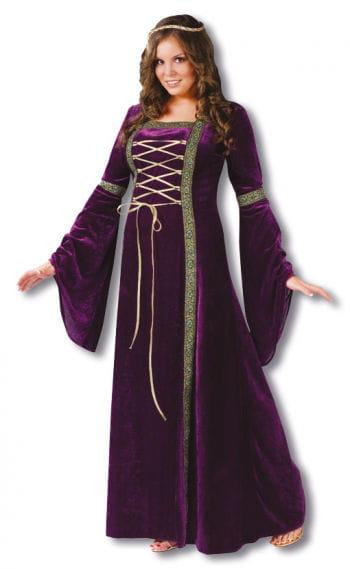 Burgfräulein Kostüm violett Plus Size