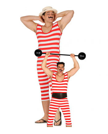 Retro Ringel swimsuit for men